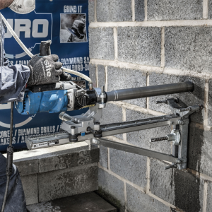 Hand or Rig Mounted Drill Motors for Dry or Wet Diamond Core Drills up to 162mm