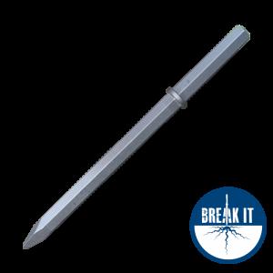 breaker steel 32 x 160mm hex shank
